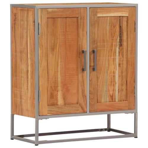 vidaXL Sideboard 65 x 30 x 75 cm Akazienholz Massiv