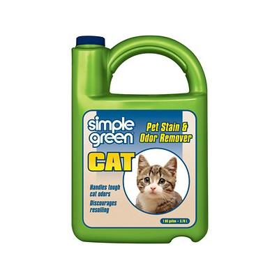 Simple Green Cat Stain & Odor Remover, 128-oz bottle
