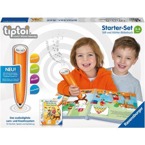 tiptoi® Starter-Set: Stift und Wörter-Bilderbuch Unser Zuhause, bunt
