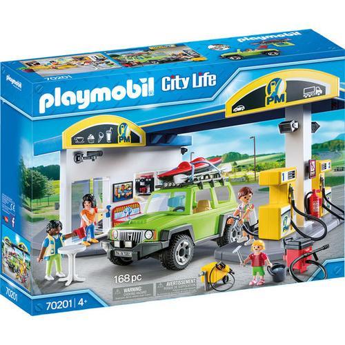 PLAYMOBIL® City Life 70201 Große Tankstelle, bunt