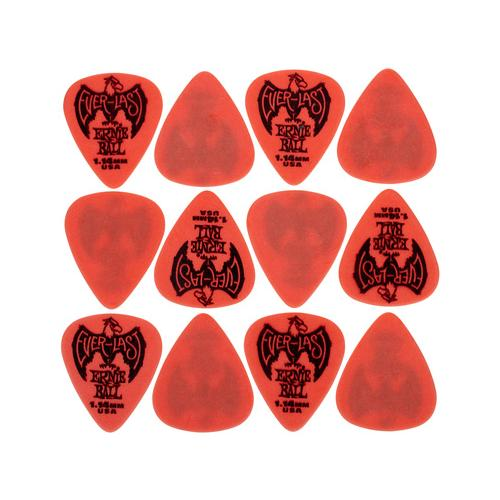 Ernie Ball Everlast Picks 1,14 mm Red