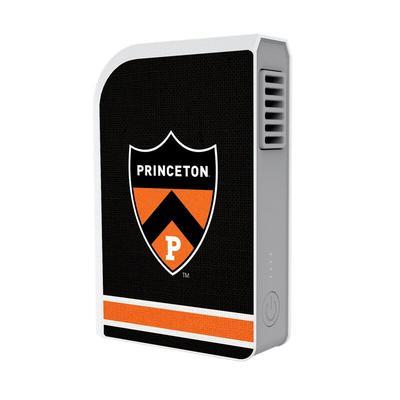 """Princeton Tigers 6000 mAh Phone Charging Powerbank & Personal Fan"""