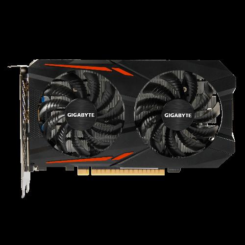 Gigabyte GeForce GTX 1050 Ti OC (4GB), Grafikkarte