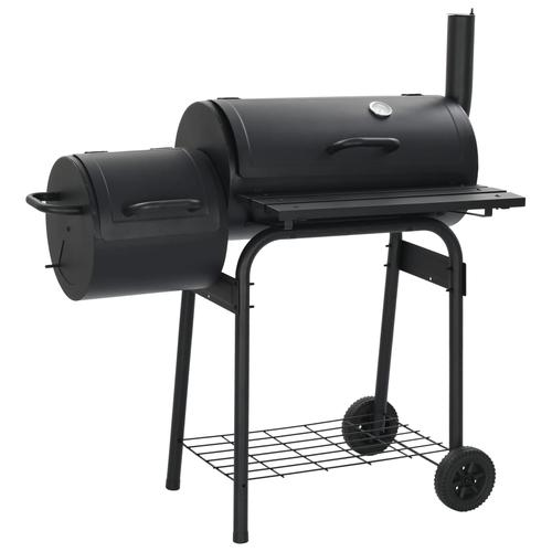 vidaXL Klassischer Holzkohlegrill Barbecue Smoker