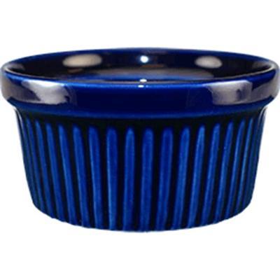 ITI RAMF-4-CB 4 oz Cancun? Ramekin – Ceramic, Cobalt Blue