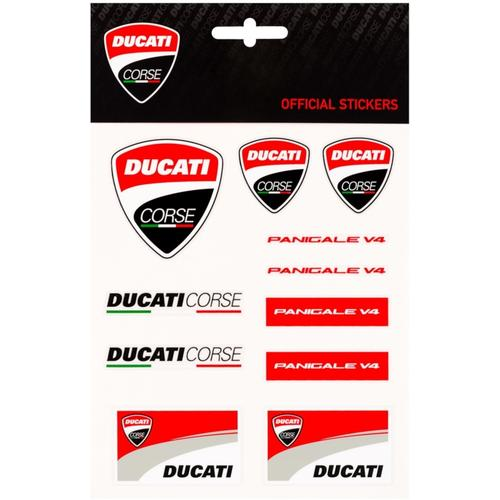 GP-Racing Ducati Medium Aufkleber Set