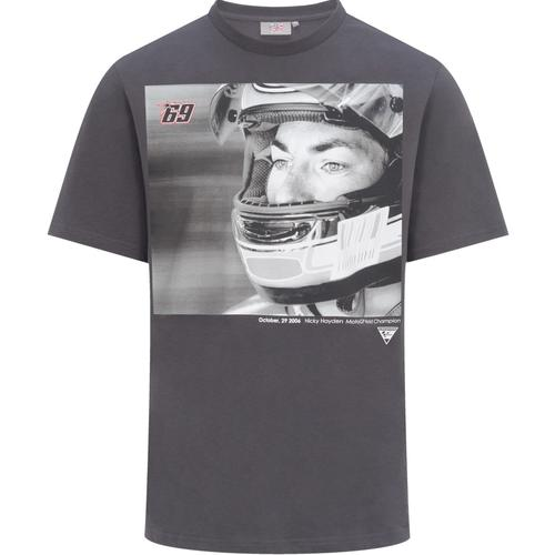 GP-Racing 69 Foto T-Shirt, schwarz-grau, Größe M
