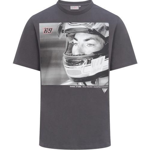 GP-Racing 69 Foto T-Shirt, schwarz-grau, Größe 2XL