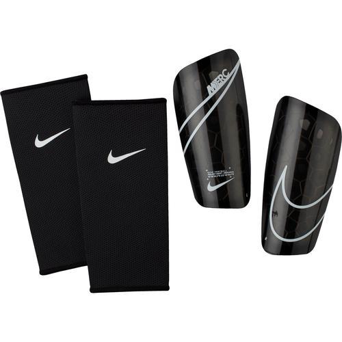 Nike Mercurial Lite Schienbeinschoner in black-black-wht, Größe M
