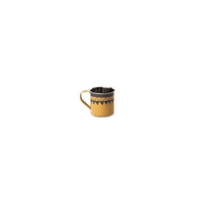 home - Satara Hand Painted Mug Mustard - Set of 2 / Mustard