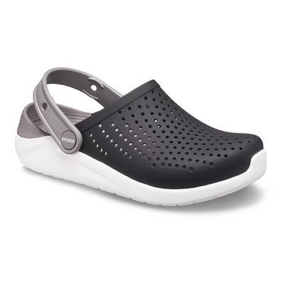 Crocs Black / White Kids' Literide™ Clog Shoes