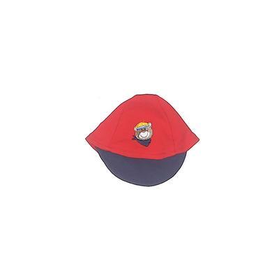 Hat: Red Solid Accessories - Siz...