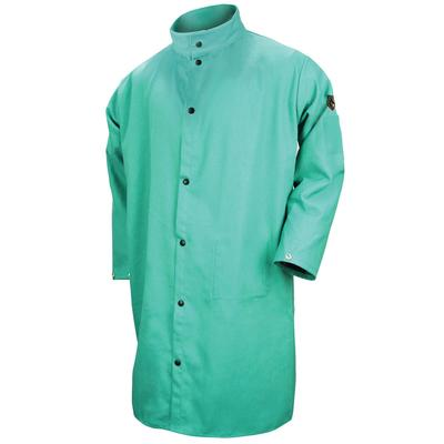 Revco Black Stallion 9oz Green FR Cotton Shop Coat