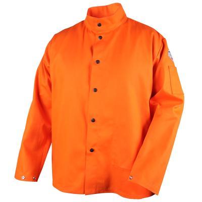 Revco Black Stallion TruGuard 200 9oz Orange FR Cotton Welding Jacket