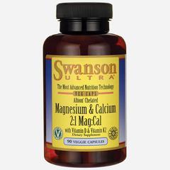 Swanson Health Ultra Albion Magnesium & Calcium