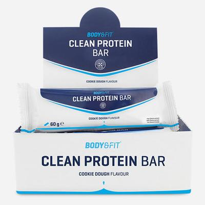 Body&Fit Clean Protein Bar - Box...