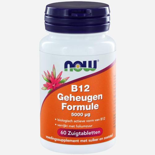Now Foods Vitamin B12 Gedächtnisformel