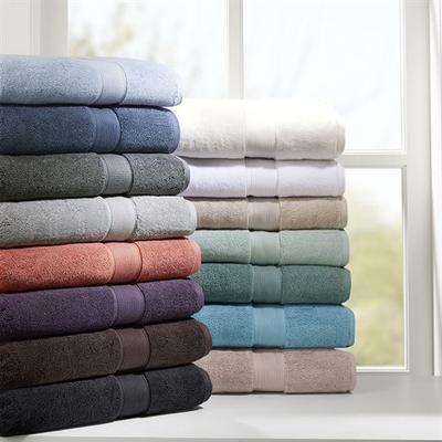 Indulgence Bath Towel Set 8 Piece Set, 8 Piece Set, Silver