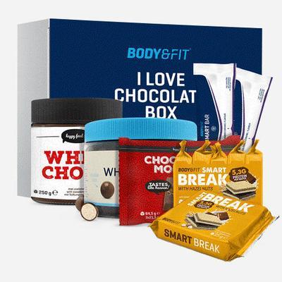 Body&Fit I Love Chocolate Box