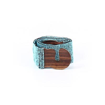 Belt: Blue Accessories - Size Small