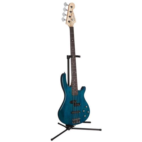 E-Bass JB blau Gitarre Musikinstrumente