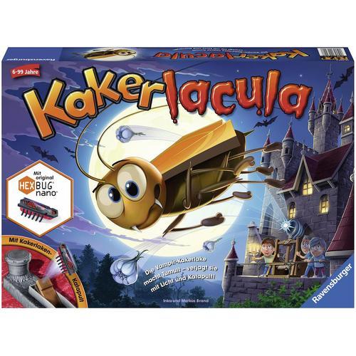 Ravensburger Spiel Kakerlacula, mit elektronischer Kakerlake; Made in Europe, FSC - schützt Wald weltweit bunt Kinder Ab 6-8 Jahren Altersempfehlung