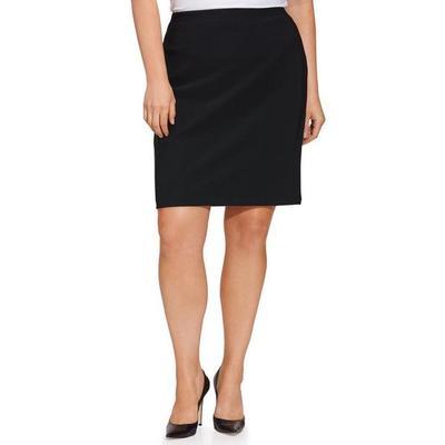 Boston Proper - Beyond Travel Pencil Skirt - Jet Black - Xx Small