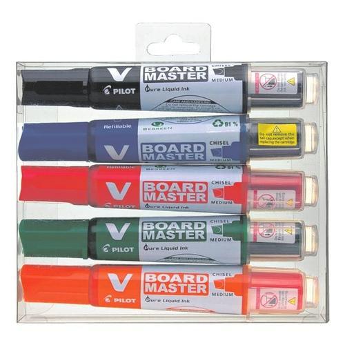 5er-Pack Whiteboard-Marker »V-Board Master«, Pilot