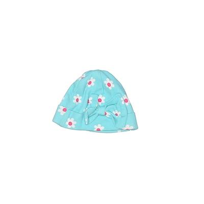 Gerber Beanie Hat: Blue Floral A...