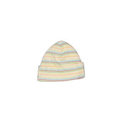 Gerber Beanie Hat: Tan Stripes A...