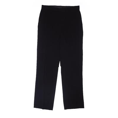 Calvin Klein Dress Pants: Black ...