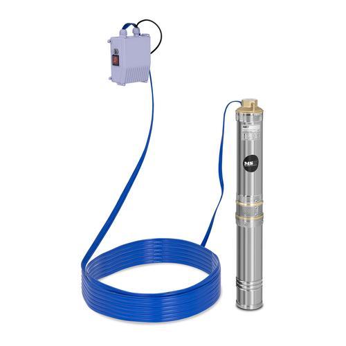 MSW Brunnenpumpe - 6.000 L/h - 370 W - Edelstahl MSW-SPP44-037