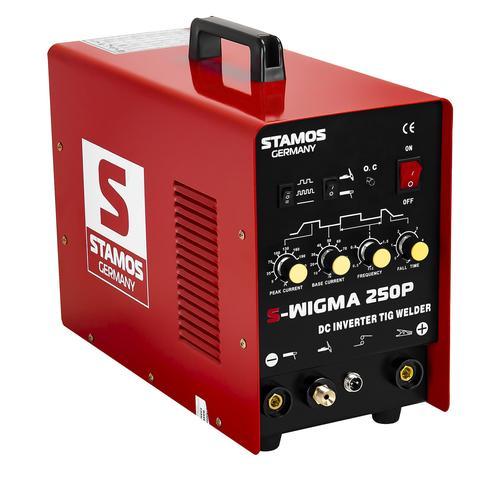 Stamos Basic WIG Schweißgerät - 250 A - 230 V - Puls S-WIGMA 250P