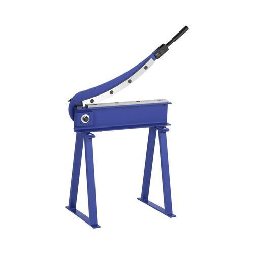 MSW Blechschlagschere - 500 mm Schnittlänge - inkl. Untergestell MSW-HS500