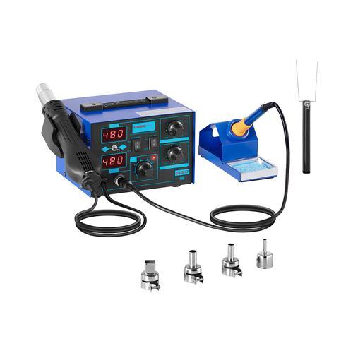 Stamos Soldering Lötstation - 2 Displays - 730 Watt - Basic S-LS-17 BASIC