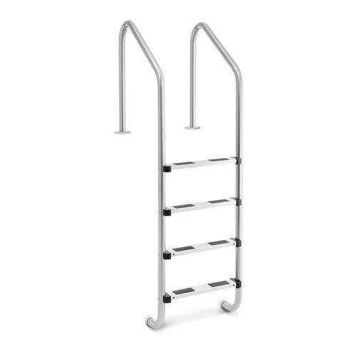 Uniprodo Poolleiter - 4 Stufen UNI_POOL_LADDER_1820