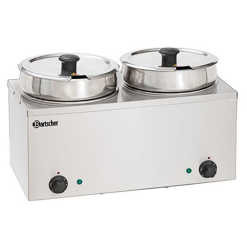 Bartscher Bain Marie Hotpot - 2 x Topf - 6,5 Liter 606065
