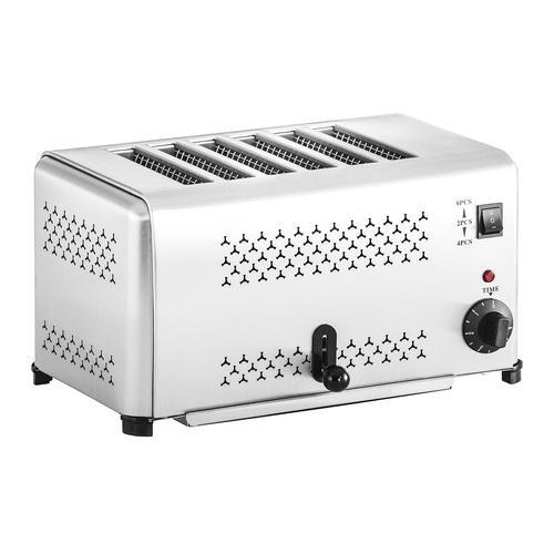Royal Catering Gastronomie Toaster mit 6 Schlitzen RCET-6E