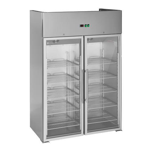 Royal Catering Gastro Kühlschrank mit zwei Glastüren - 984 L RCLK-S1400