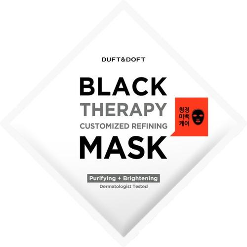 Duft & Doft Black Therapy Customized Refining Mask 28 ml Gesichtsmaske