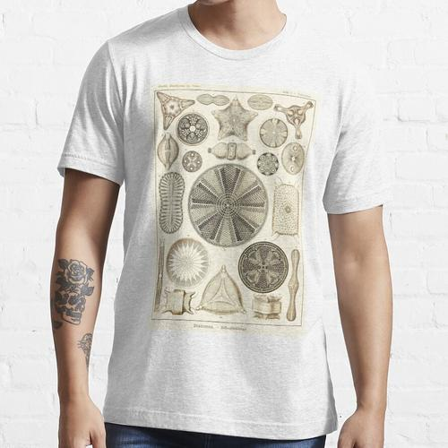 Tafel 04. Kieselalgen, mikroskopisch kleine Meerestiere. Essential T-Shirt