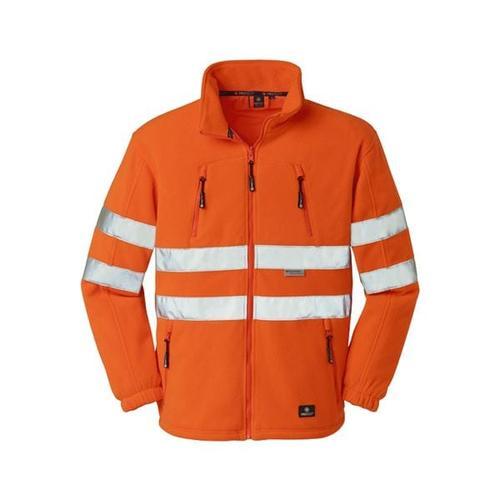 Warnschutzfleecejacke »SEATTLE« Größe XL orange, 4Protect