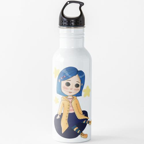 Coraline Puppe Wasserflasche
