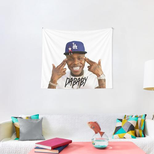 rabbo Rap Dababy Hip-hop baby on baby Tour 2019 Wall Tapestry