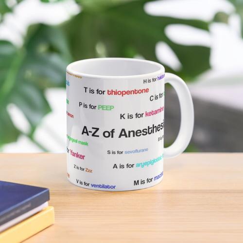 A bis Z der Anästhesie / Anästhesie Tasse