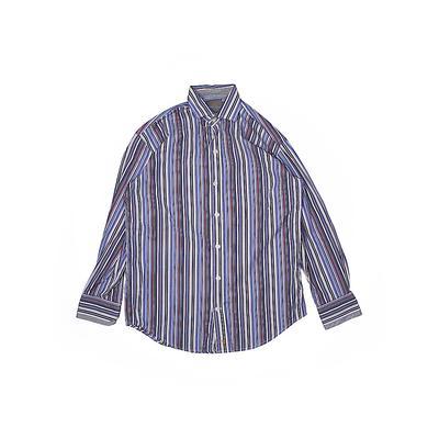 Thomas Dean Long Sleeve Button D...