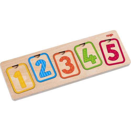 HABA Holzpuzzle Erste Zahlen, bunt