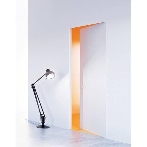 Zimmertüren mit unsichtbaren Zargen 'DMB SET' Weiß- Tapetentüren inkl. Zarge