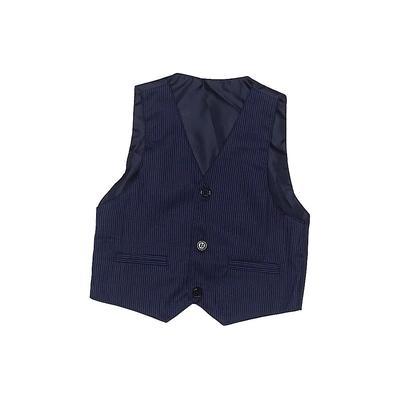 Tuxedo Vest: Blue...