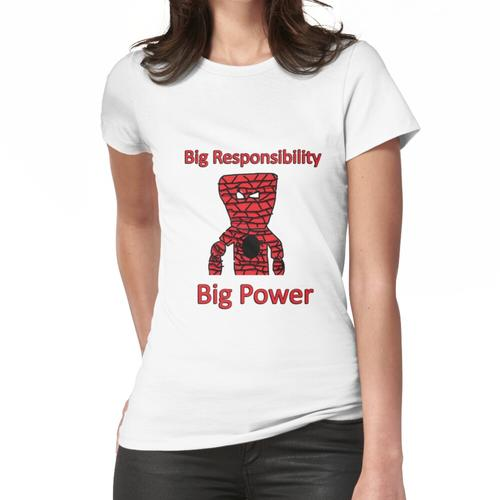 SpiderOzner Big Power Shirt Frauen T-Shirt